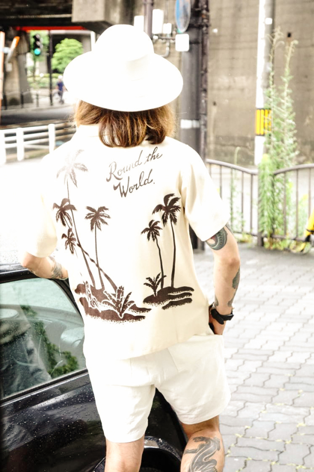 BY GLAD HAND ROUND THE WORLD - S/S SHIRTS IVORY