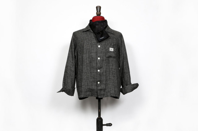 BY GLAD HAND LOUNGE - L/S SHIRTS BLACK