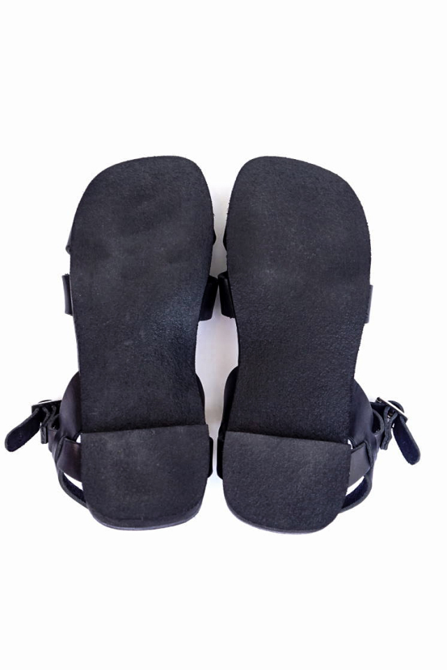 CLINCH Cross SANDAL Black Smooth