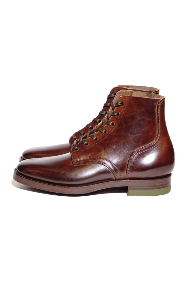 """CLINCH Yeager boots Horsebutt overdye BROWN """"Leather Sole + HRS + TRビーンズ"""""""