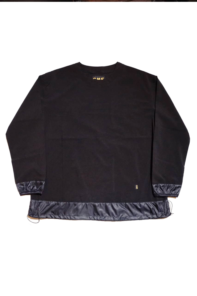 COMFY OUTDOOR GARMENT GRAVEL L/S TEE BLACK