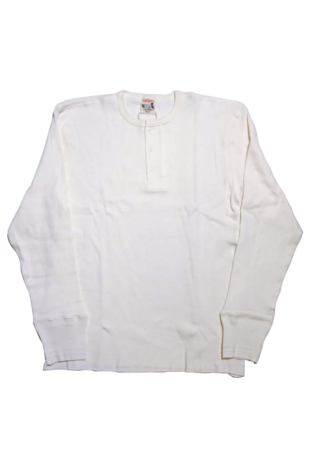 GLAD HAND STANDARD WAFFLE HENRY L/S T-SHIRTS