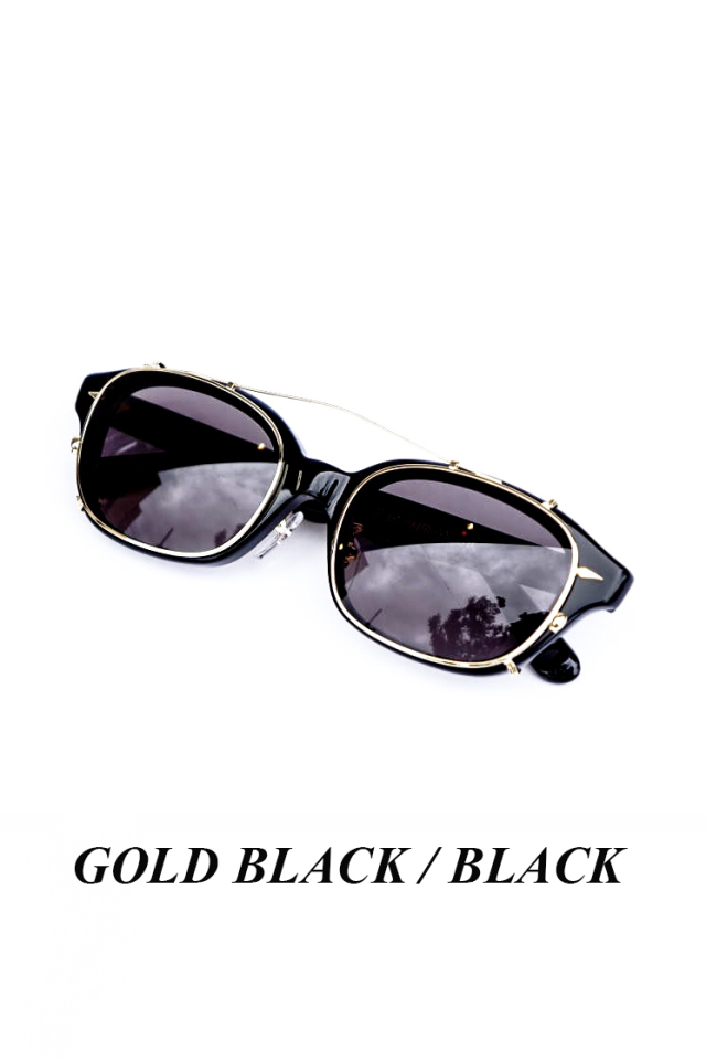 "GLAD HAND×丹羽雅彦 J-IMMY & CLIP ON - GLASSES ""SET"" GOLD"