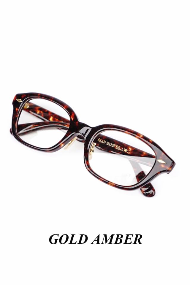 """GLAD HAMD×丹羽雅彦 J-IMMY - GLASSES """"ORNAMENT"""" GOLD"""