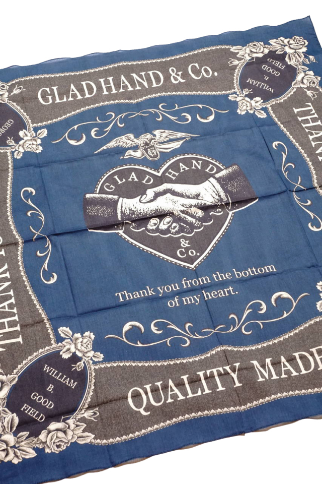 GLAD HAND & Co. HEARTLAND - SCARF