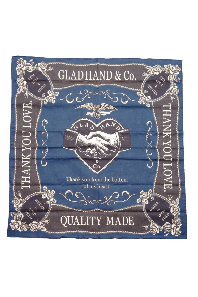 GLAD HAND & Co. HEARTLAND - BANDANA