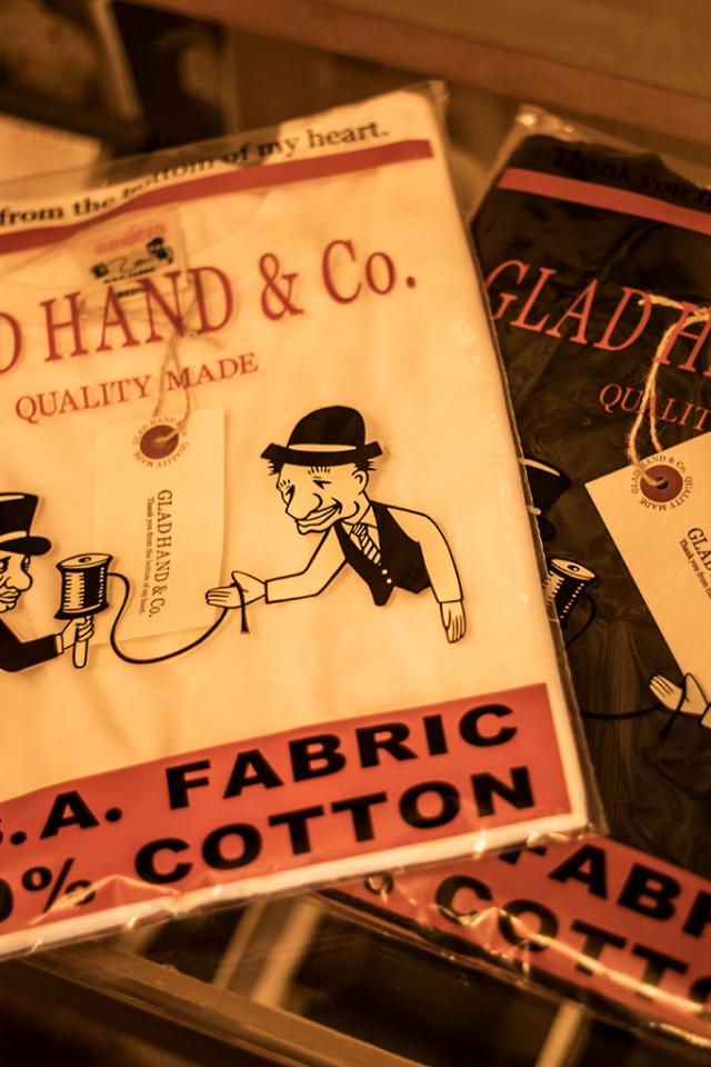 GLAD HAND STANDARD WAFFLE L/S T-SHIRTS