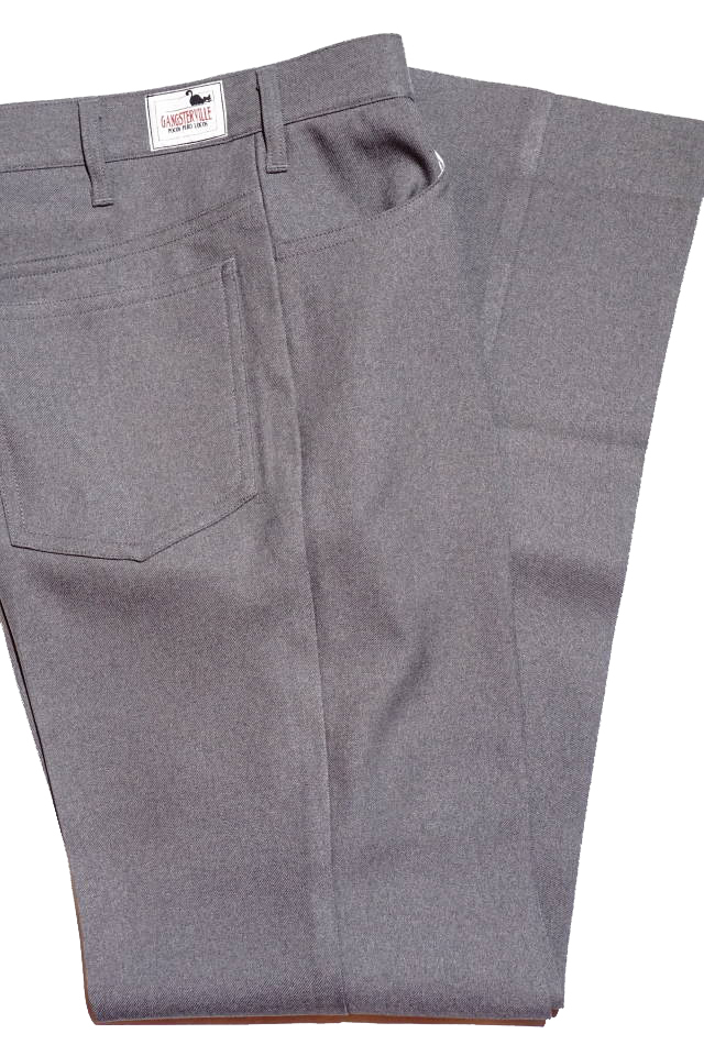 GANGSTERVILLE REBELS - PANTS GRAY