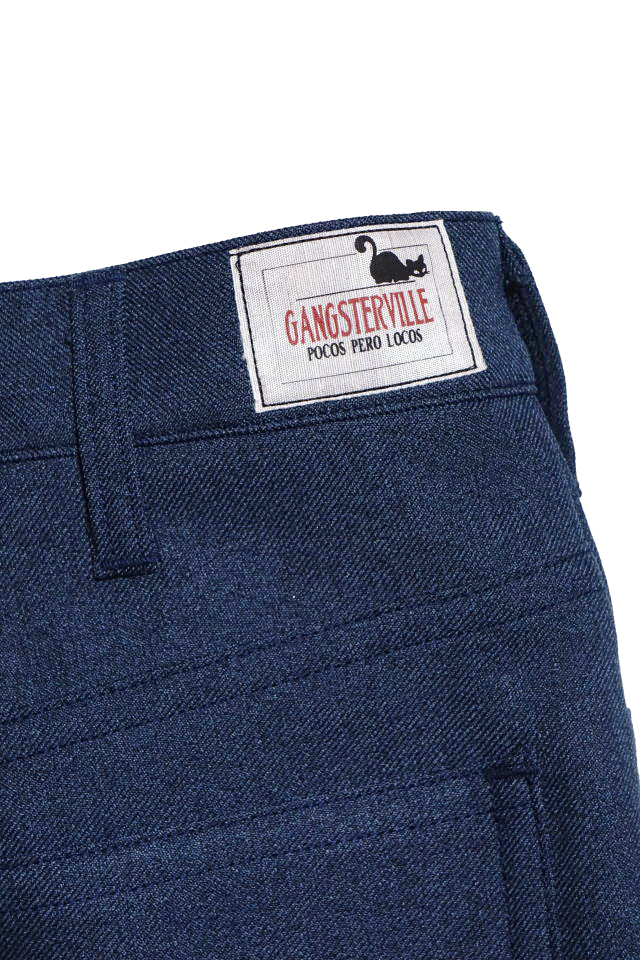 GANGSTERVILLE REBELS - PANTS NAVY