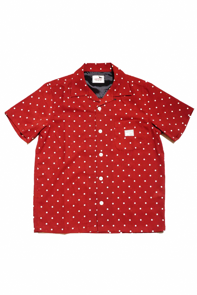 GANGSTERVILLE DIAMONDS - S/S SHIRTS RED