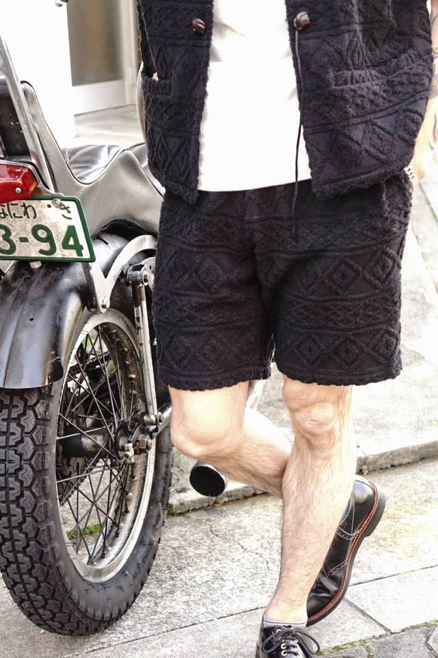 BY GLAD HAND ISLAND - SHORTS BLACK