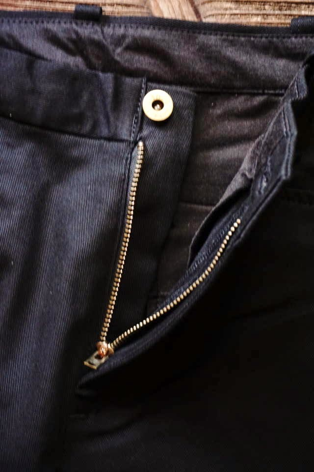 GANGSTERVILLE THUG - PANTS SLIM BLACK