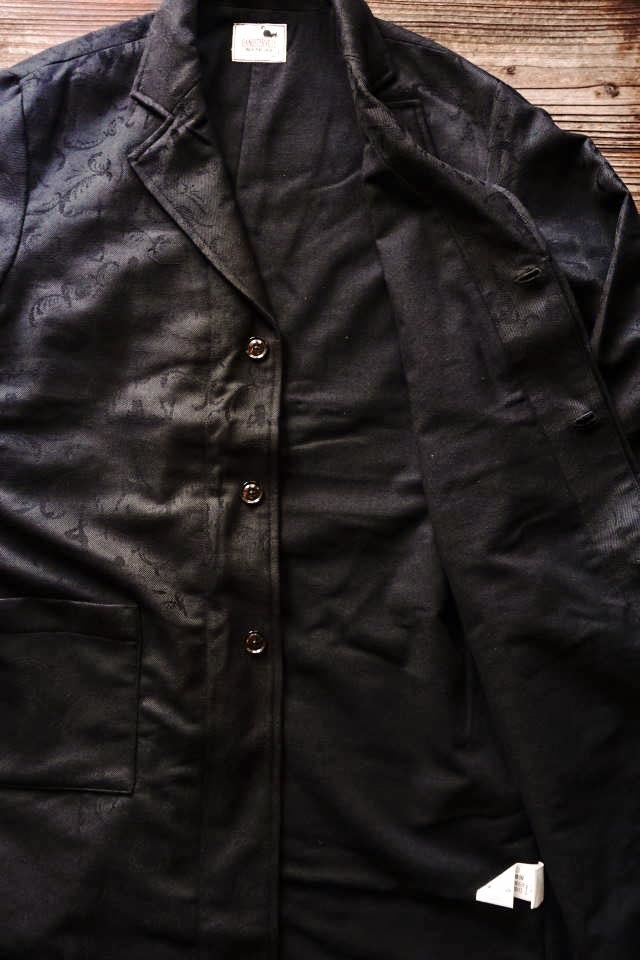 GANGSTERVILLE SPEAKEASY - COAT ※LOMG BLACK