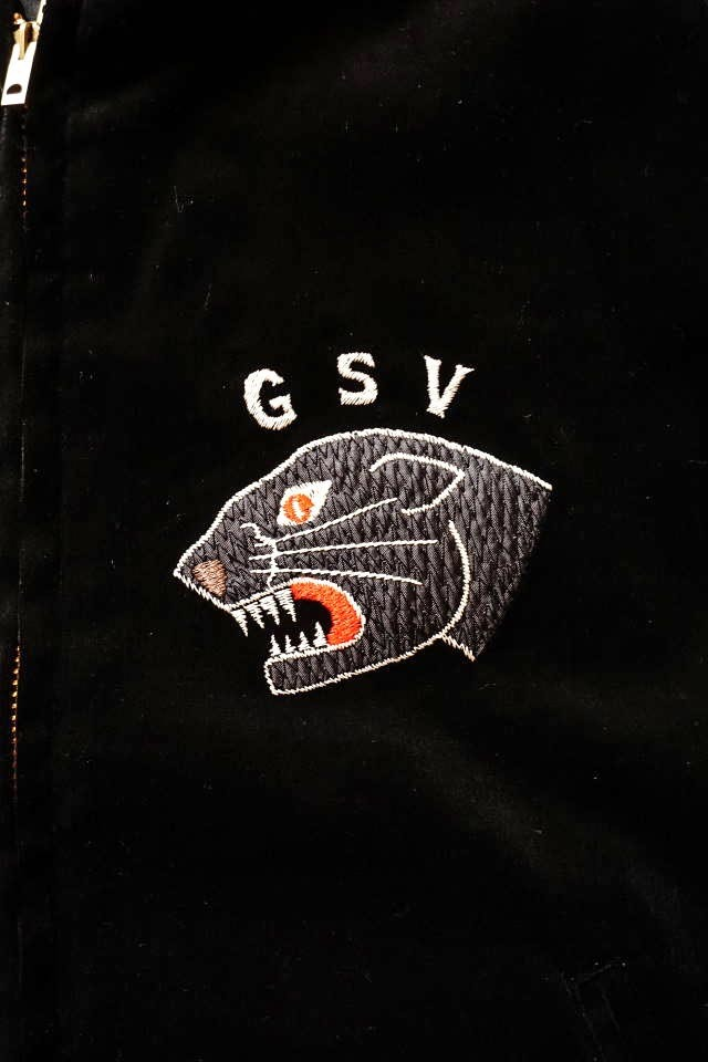 GANGSTERVILLE BLACKSVILLE - SOUVENIR JACKET BLACK