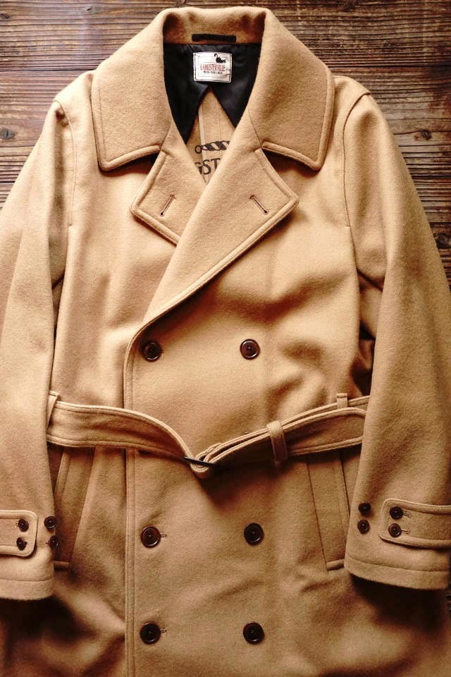 GANGSTERVILLE CLASSIC PARLOR - TRENCH COAT BEIGE