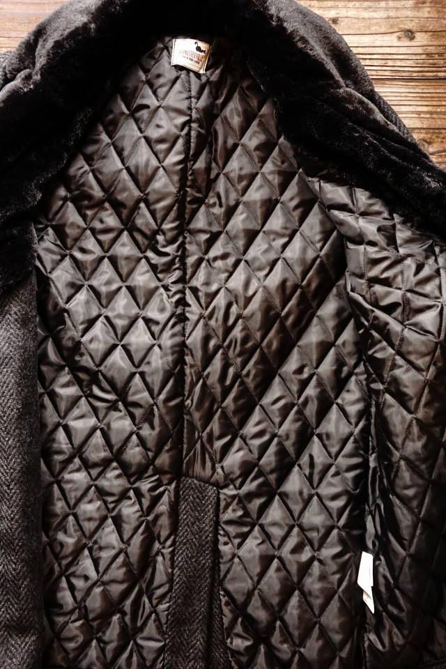 GANGSTERVILLE THUG - DONKEY COAT BLACK