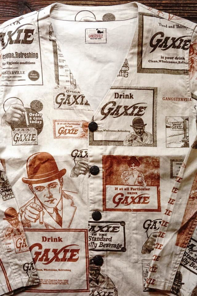 GANGSTERVILLE GAXIE - SHIRTS IVORY