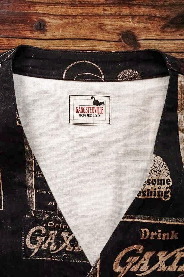GANGSTERVILLE GAXIE - SHIRTS BLACK
