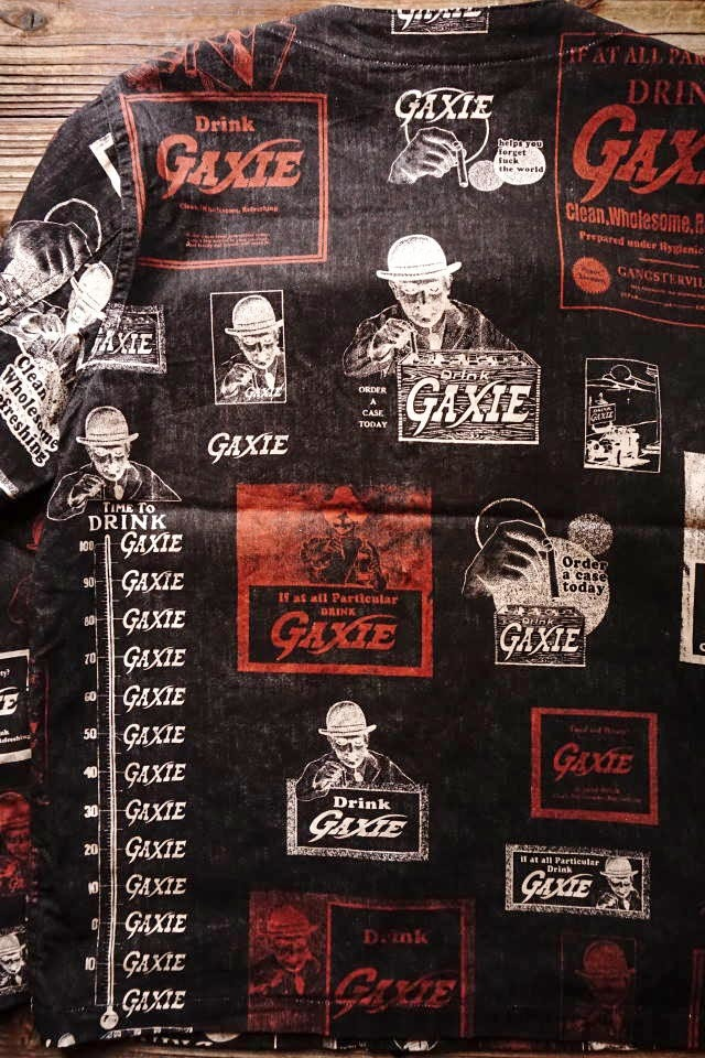 GANGSTERVILLE GAXIE - SHIRTS BLACK