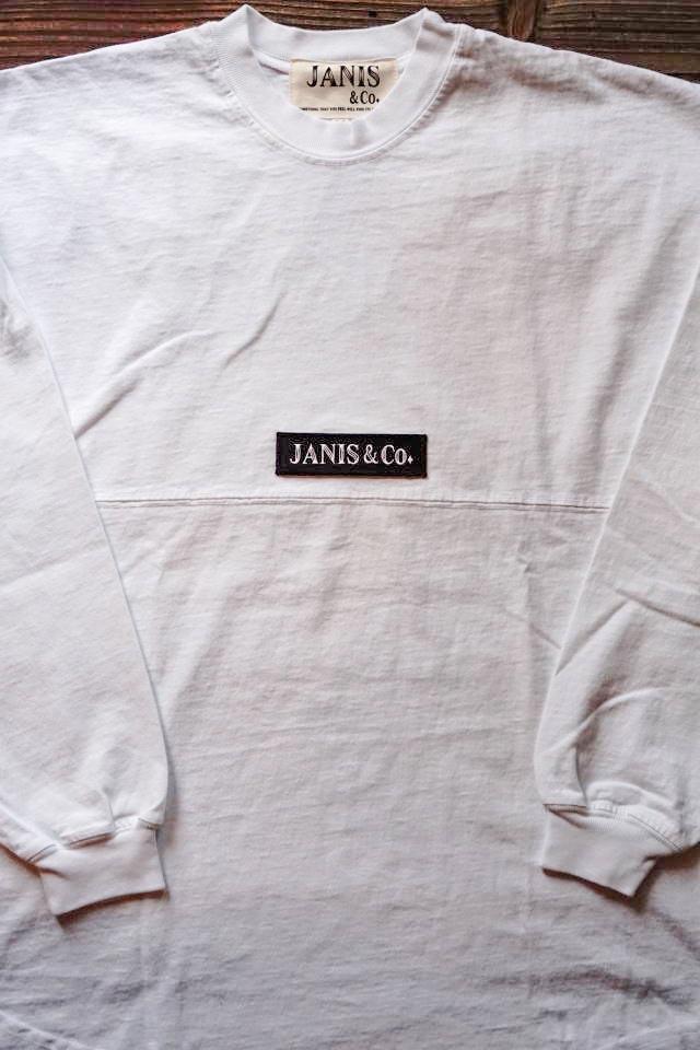JANIS & Co. TOKYO -BIG L/S TS (WHITE)