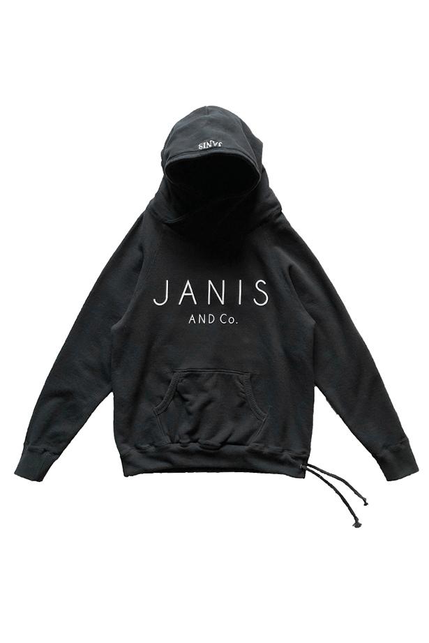 JANIS & Co. PARTNER HOODIE BLACK