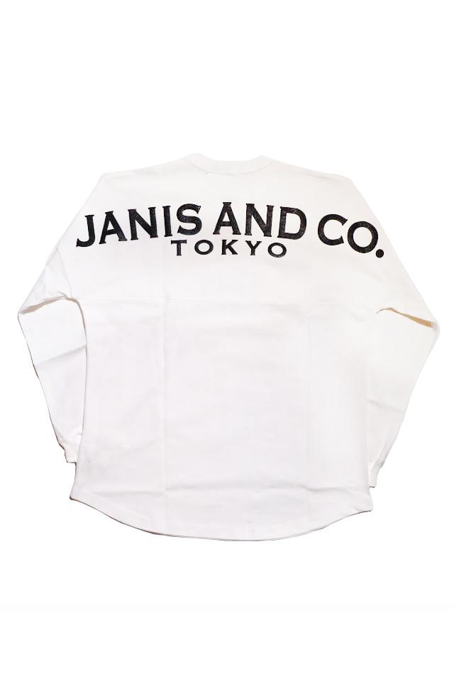 JANIS & Co. JNS TKO - BIG L/S TS (WHITE)