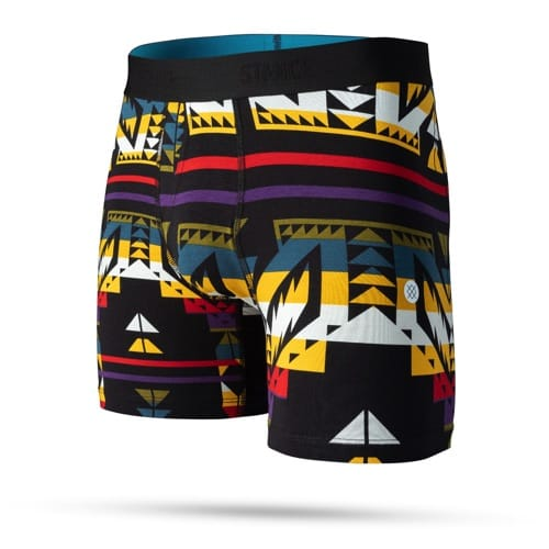 STANCE UNDER WEAR CRASH BOXER BRIEF BLACK