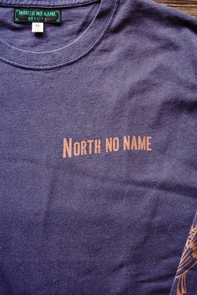 """NORTH NO NAME NNN PATCH PATTERN L/S T """"EAGLE"""" NAVY"""