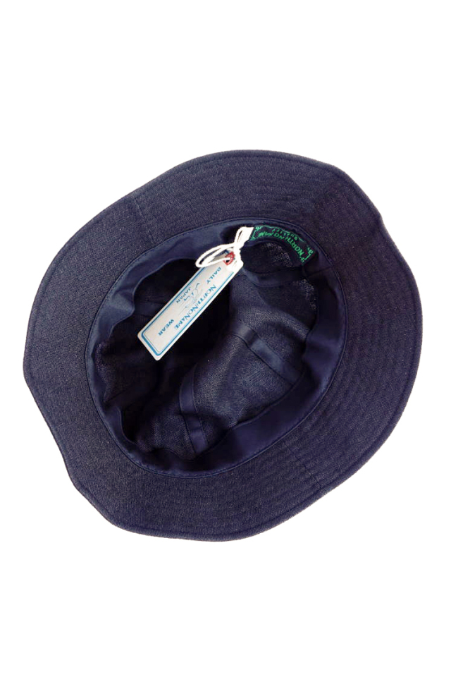 NORTH NO NAME 30's TYPE LINEN HAT BLACK