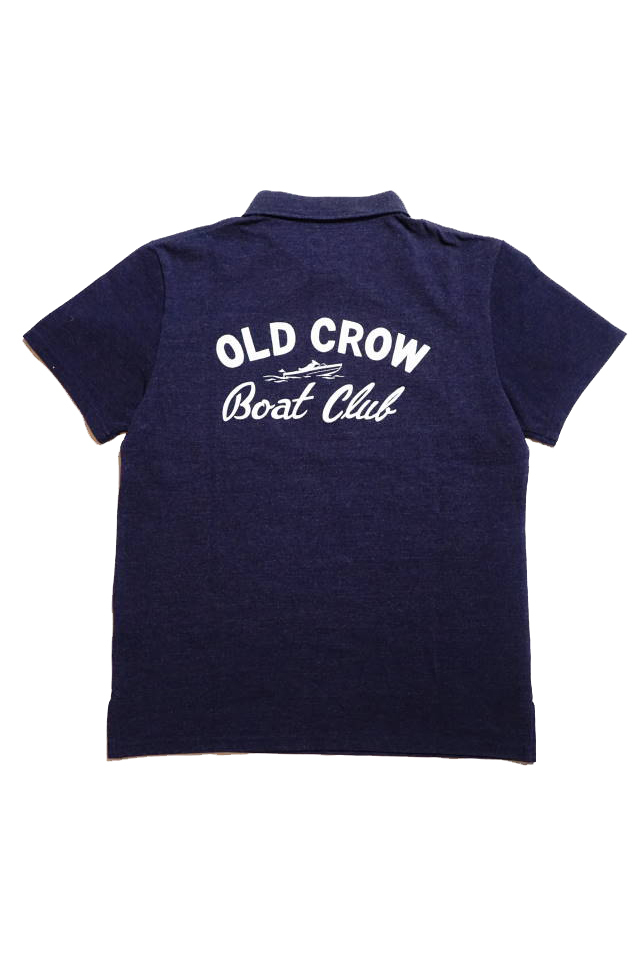 OLD CROW BOAT CLUB - S/S POLO SHIRTS NAVY