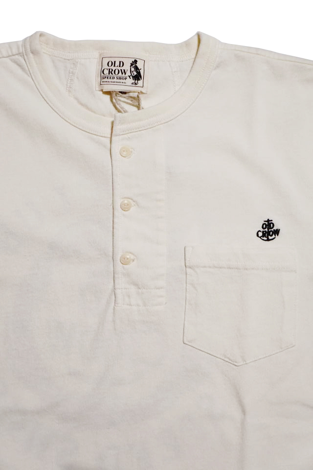 OLD CROW  RUNABOUT - S/S T-SHIRTS WHITE