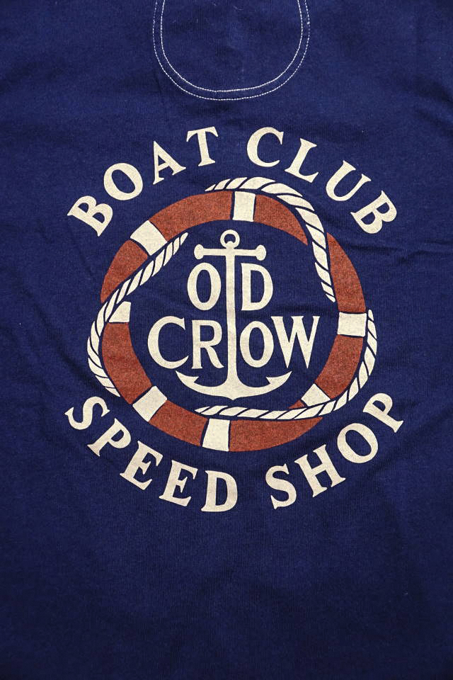 OLD CROW  RUNABOUT - S/S T-SHIRTS NAVY