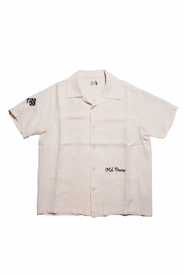 OLD CROW SPEEDSTER - S/S SHIRTS IVORY