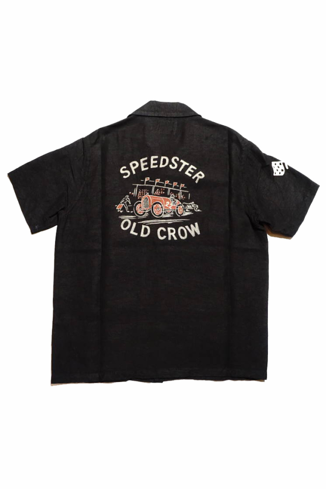 OLD CROW SPEEDSTER - S/S SHIRTS BLACK