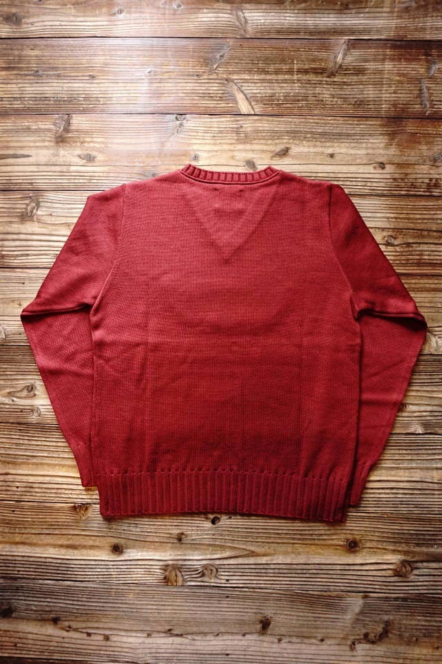 OLD CROW CROW WING - SWEATER BURGUNDY