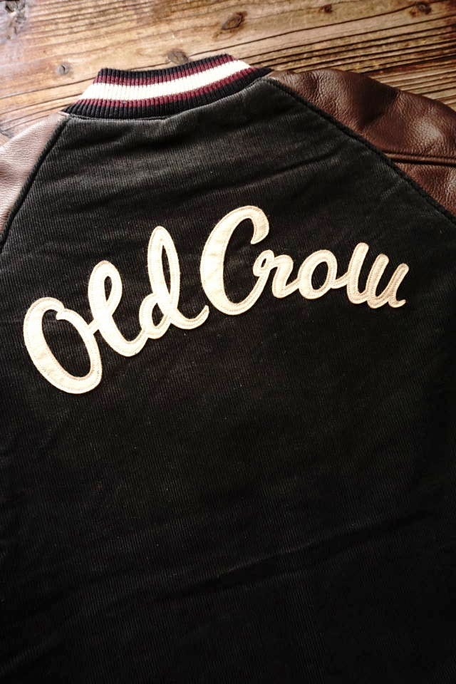 OLD CROW RODDER CLUB - JACKET BLACK
