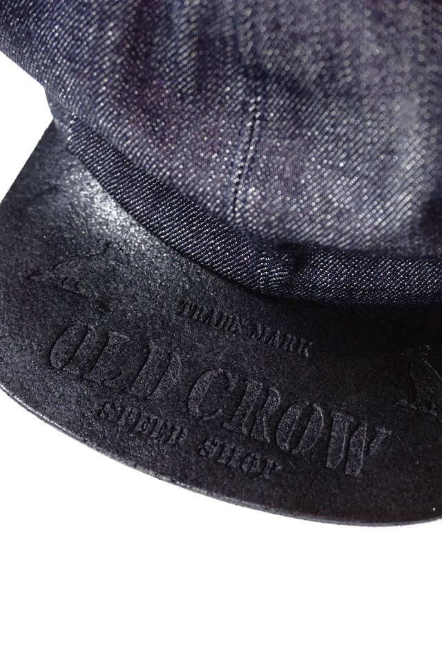OLD CROW RODDER - CASQUETTE IND×BLK