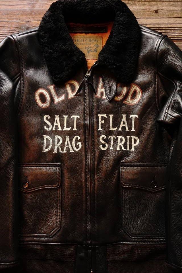 OLD CROW OLDROD G - JACKET BLACK