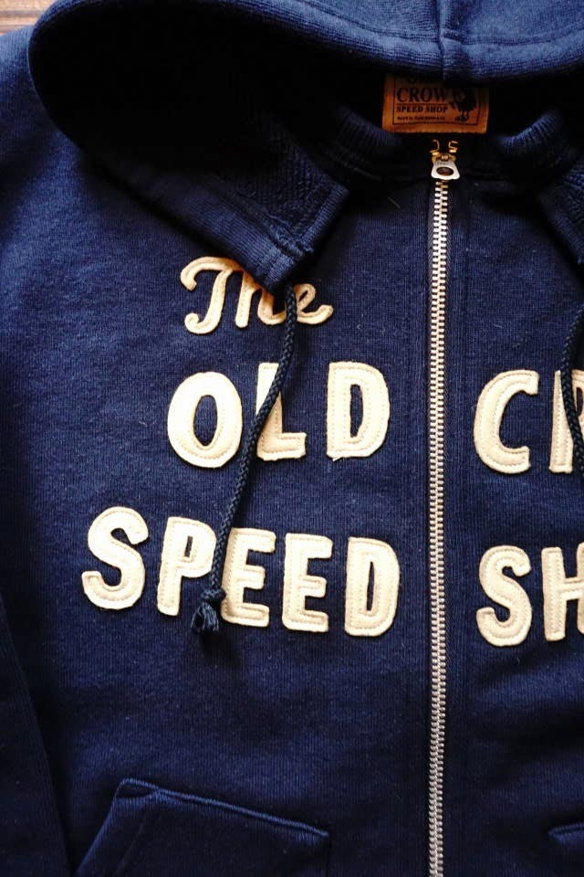 OLD CROW RODDER CLUB - PARKA NAVY