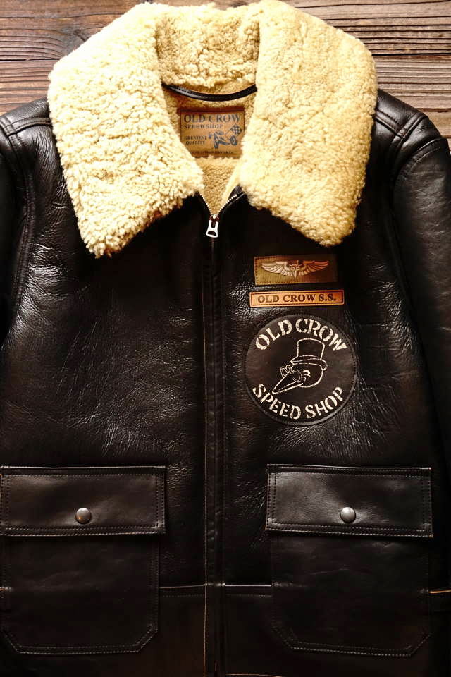 OLD CROW OLDROD B - JACKET BLACK