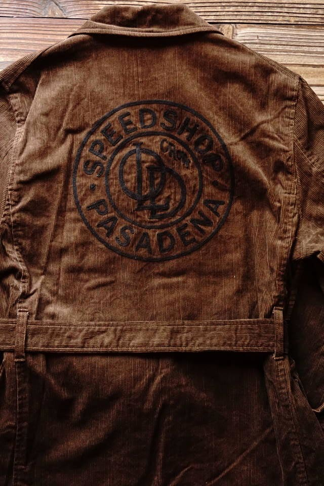 OLD CROW SPEED SHOP - COAT BROWN