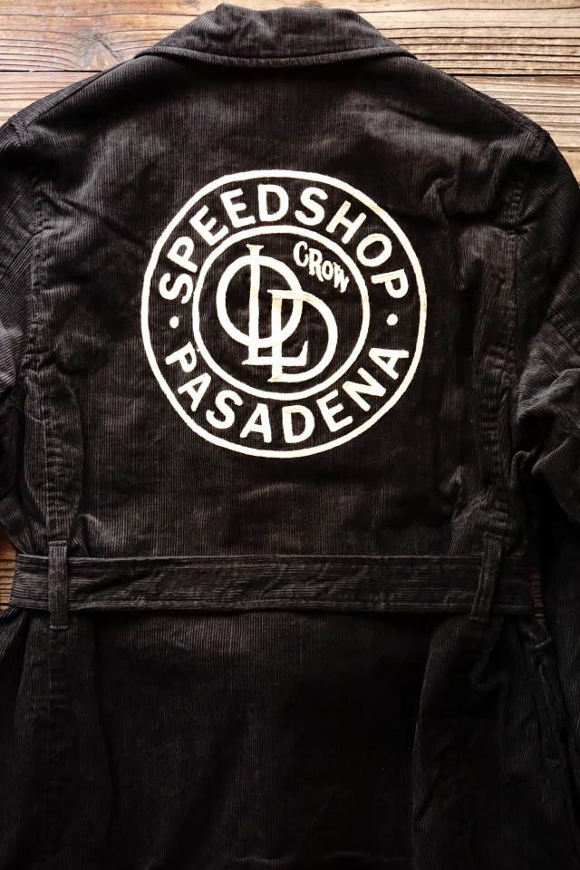 OLD CROW SPEED SHOP - COAT BLACK