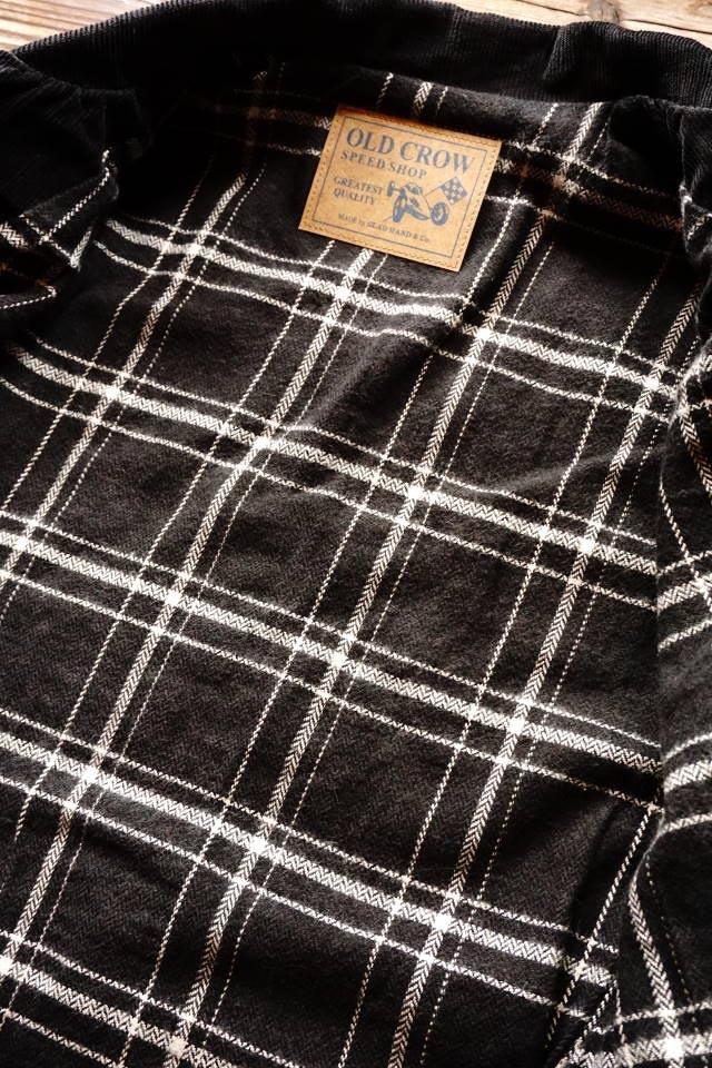 OLD CROW SPEED SHOP - COAT BLACK