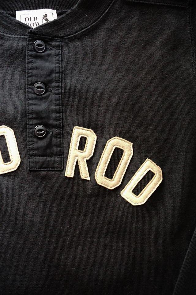 OLD CROW 1952 - L/S T-SHIRTS BLACK