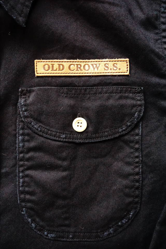 OLD CROW BELLY TANK - L/S SHIRTS BLACK