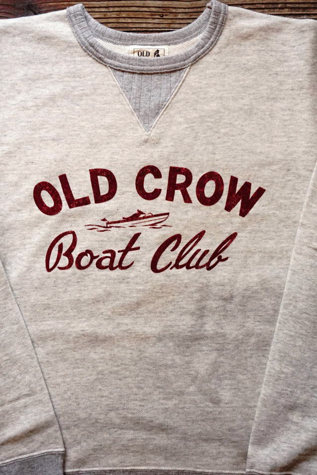 OLD CROW BOUT CLUB - SWEAT OATMEAL