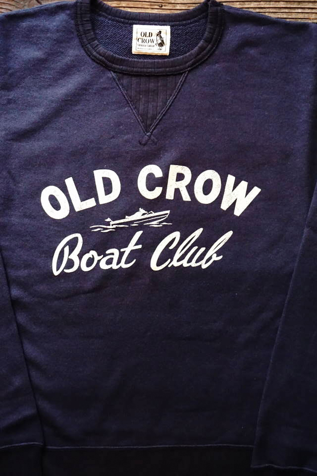 OLD CROW BOUT CLUB - SWEAT NAVY