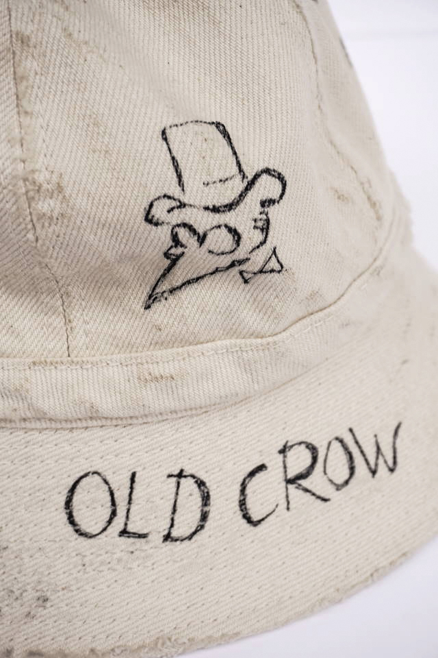 "OLD CROW RUNABOUT - HAT IVORY ""VINTAGE FINISH"""
