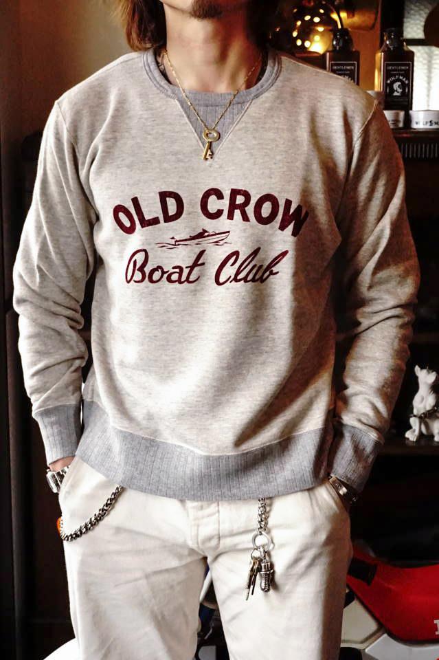 OLD CROW BOAT CLUB - SWEAT OATMEAL