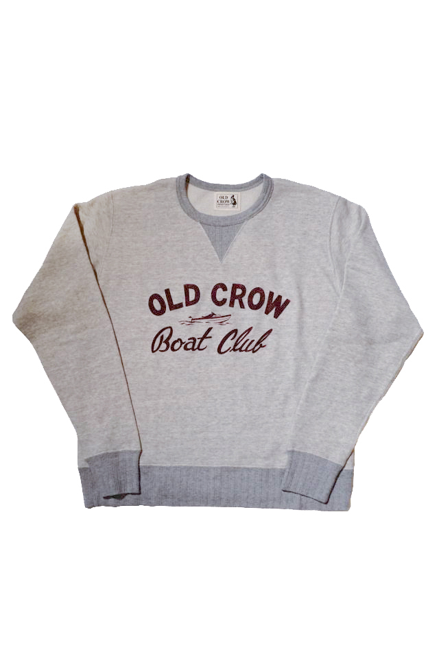 OLD CROW BOAT CLUB - SWEAT OATMEAL